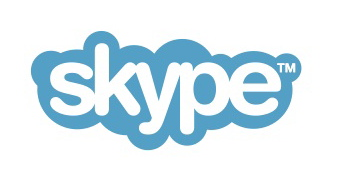 Skype Blue Logo