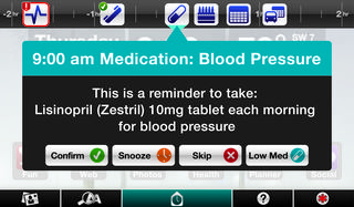 Angela medication reminder - June 2011
