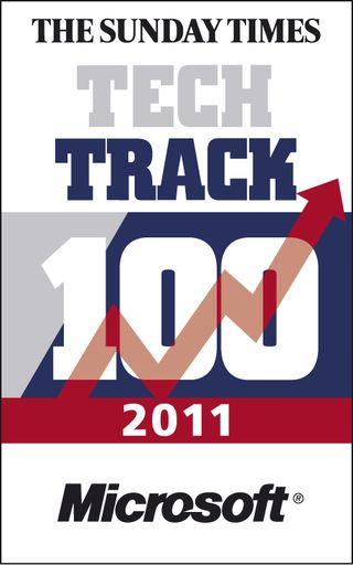 2011 Tech Track 100 logo