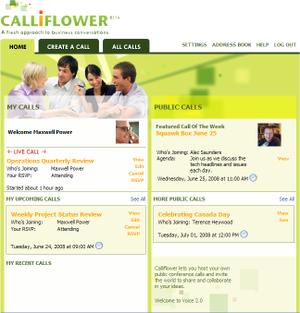 Calliflowerhomepagescreenshot_2